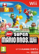 New Super Mario Bros Wii Wii packshot